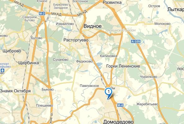 Карта проезда: Таможенный